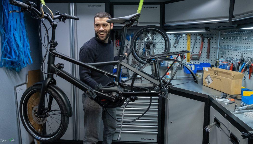 Esprit vélo Paris Atelier de Réparation Remplacement Roue