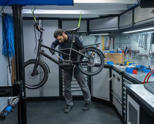 Winora Radius Préparation Atelier Esprit vélo