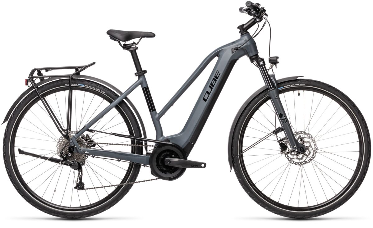 Esprit vélo Cube Touring Hybrid ONE 400 grey´n´black F