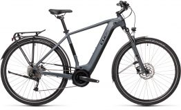 Esprit vélo Cube Touring Hybrid ONE 400 grey´n´black H