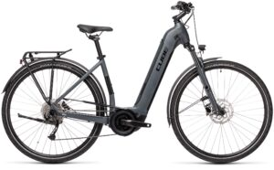 Catalogue Esprit vélo Cube Touring Hybrid ONE 400 grey´n´black