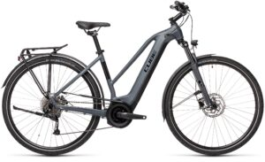 Catalogue Esprit vélo Cube Touring Hybrid ONE 500 grey´n´black Trapeze