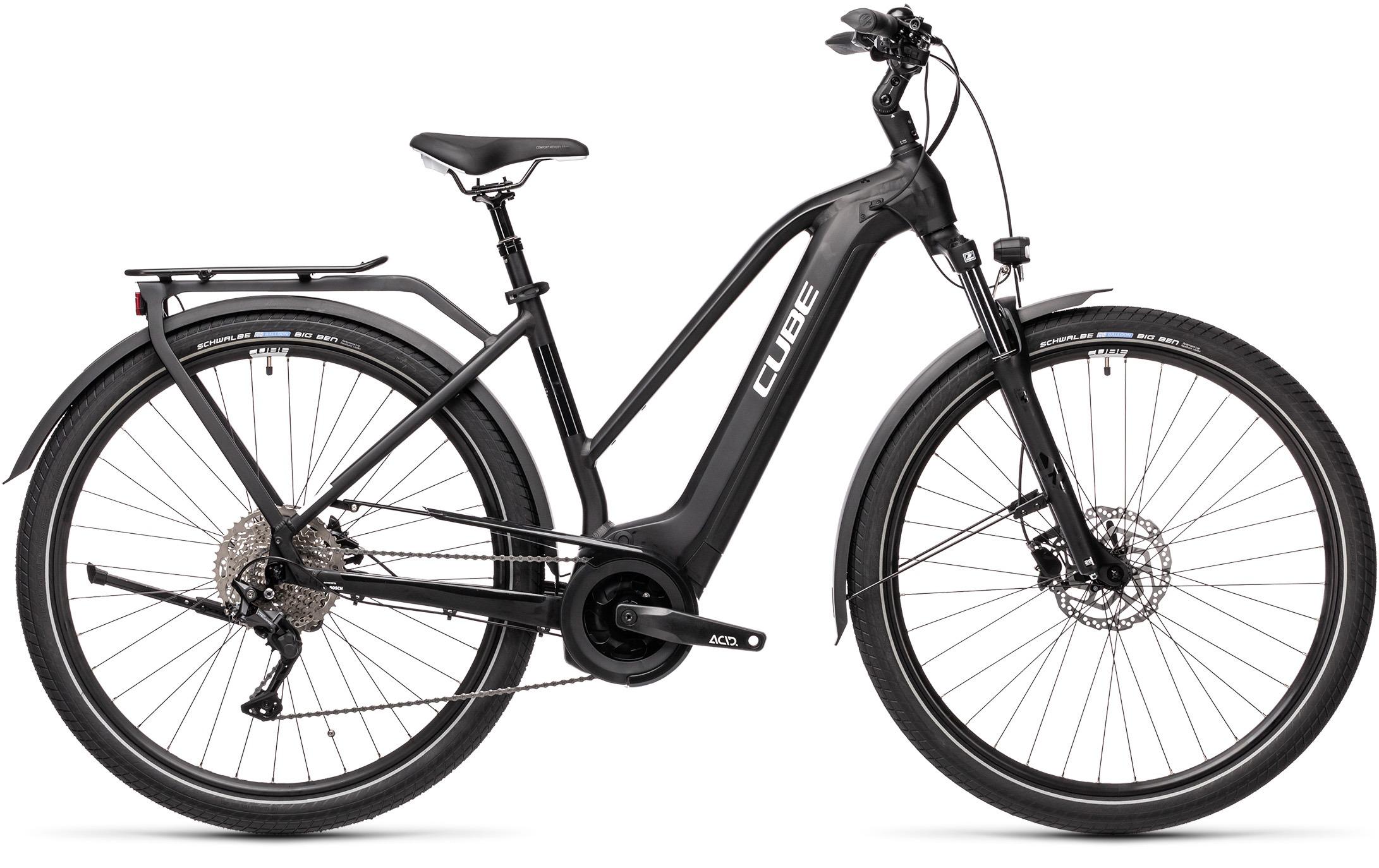 Esprit vélo Cube Touring Hybrid Pro 500 black´n´white Trapeze