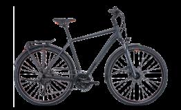 Cube Touring EXC Diamant grey n orange Esprit vélo Paris 13