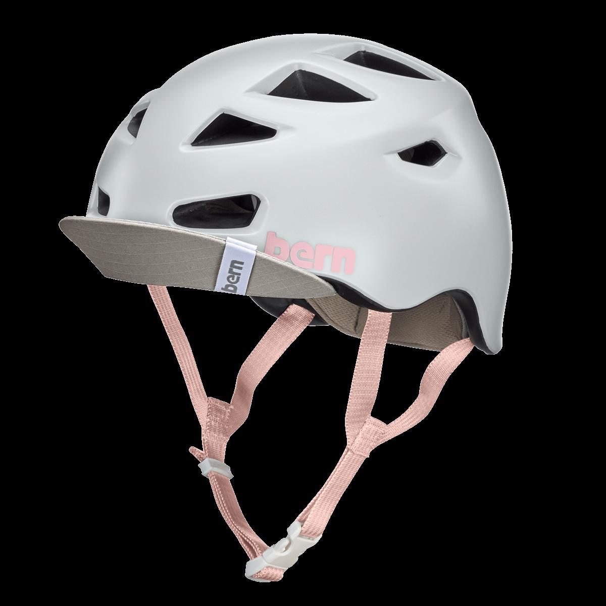 Casque Bern Melrose-Satin-Light-Grey-1 Esprit vélo