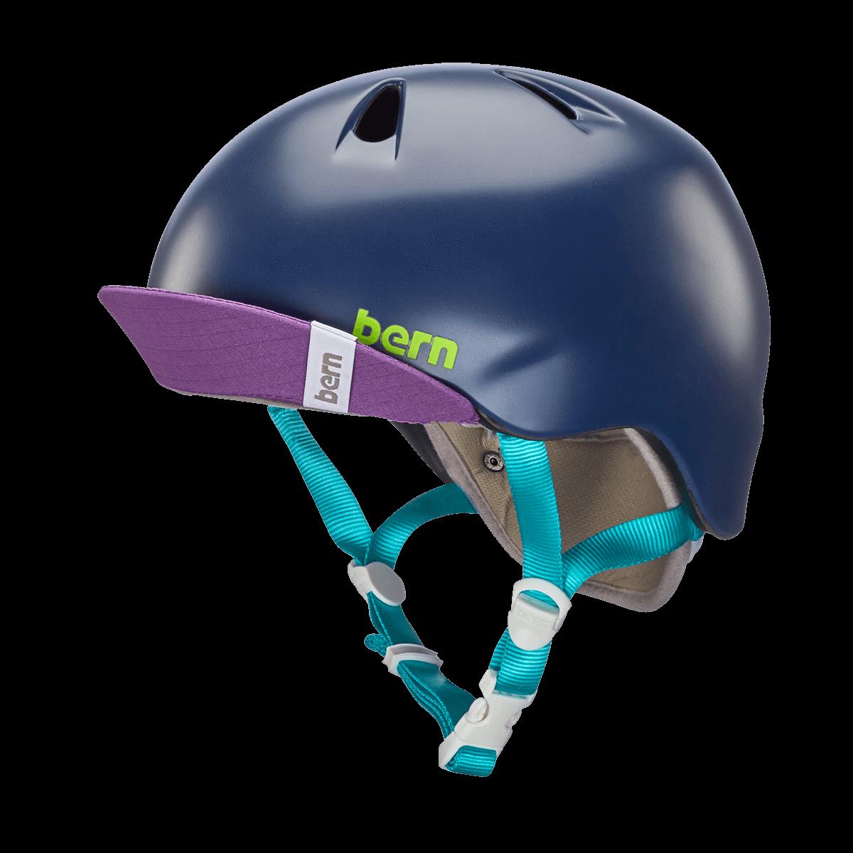 Casque Bern Nina-Satin-Navy-Blue-Esprit vélo