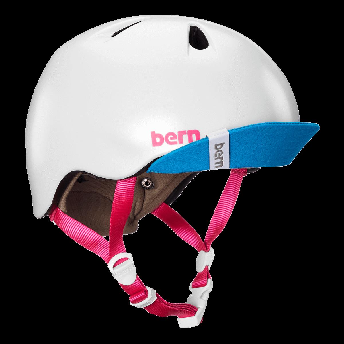 Casque Bern Nina-Satin-White-Esprit vélo