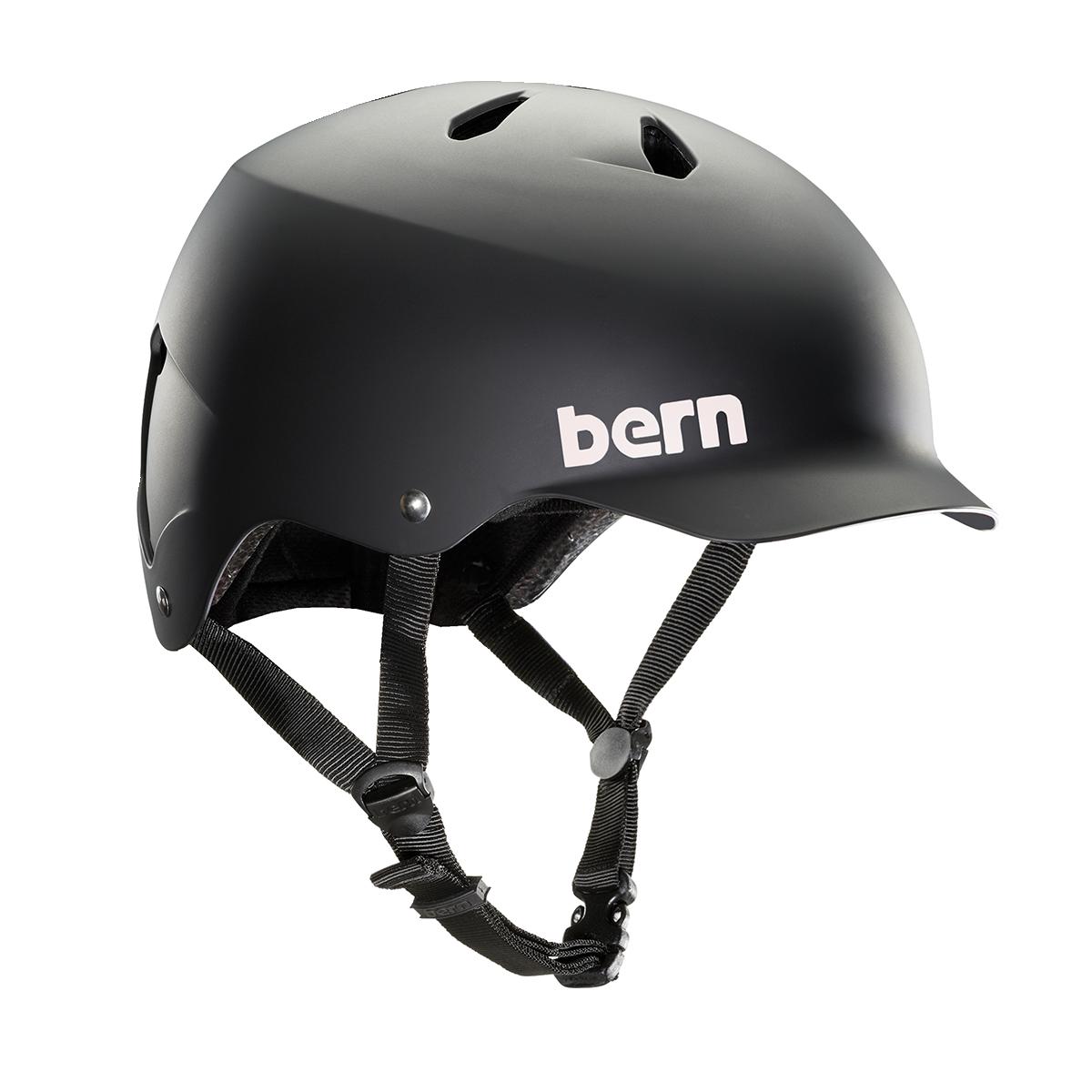 Casque Bern Team_Watts_Matte_Black Esprit vélo