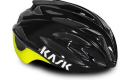 Casque kask Rapido black yellow Esprit vélo