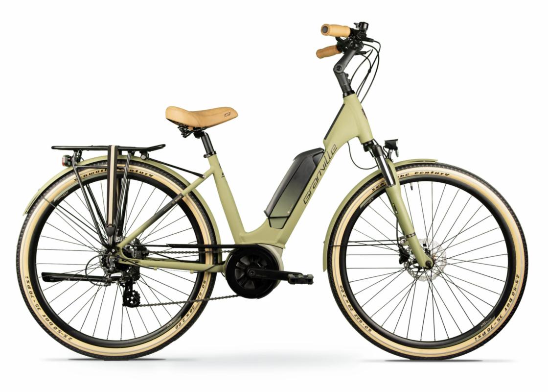 Granville E-Urban 30 plus olive Esprit vélo