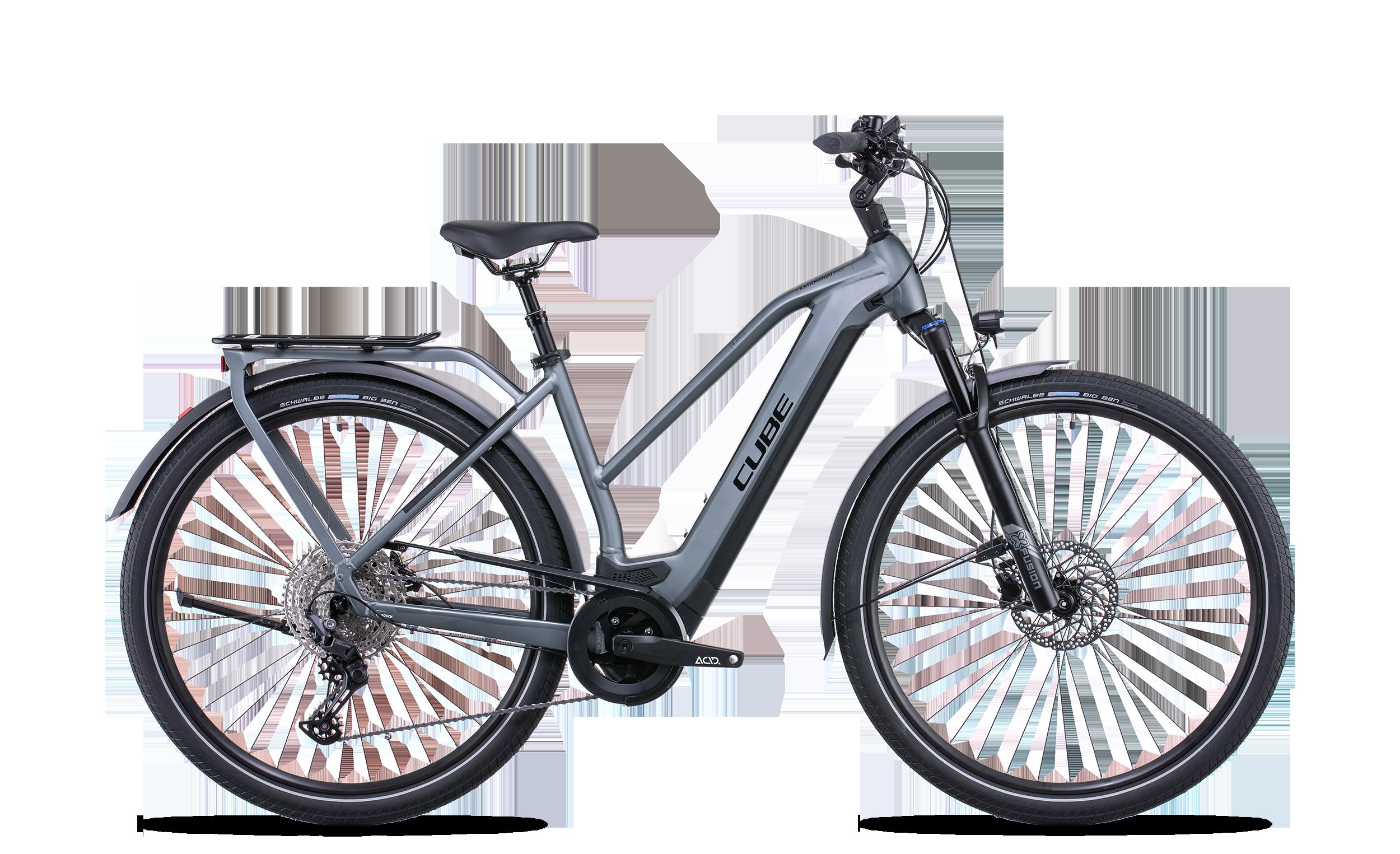 Cube Kathmandu Hybrid Pro 625 Trapeze Esprit vélo Paris 13