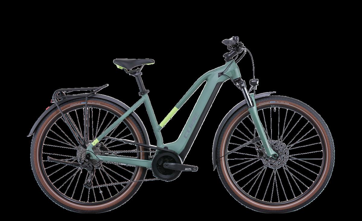 Cube Touring Hybrid One 625 Trapeze Green Esprit vélo Paris 13