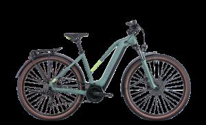 Catalogue Cube Touring Hybrid One 625 Trapeze Green Esprit vélo Paris 13