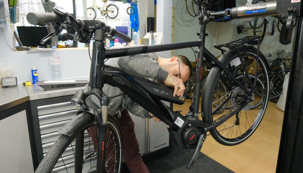 Esprit vélo Paris Atelier de Réparation Controle Pression Pneu