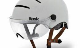 Casque kask urban lifestyle blanc Esprit vélo