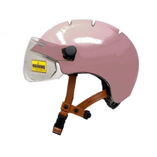 Casque kask urban lifestyle rose Esprit vélo