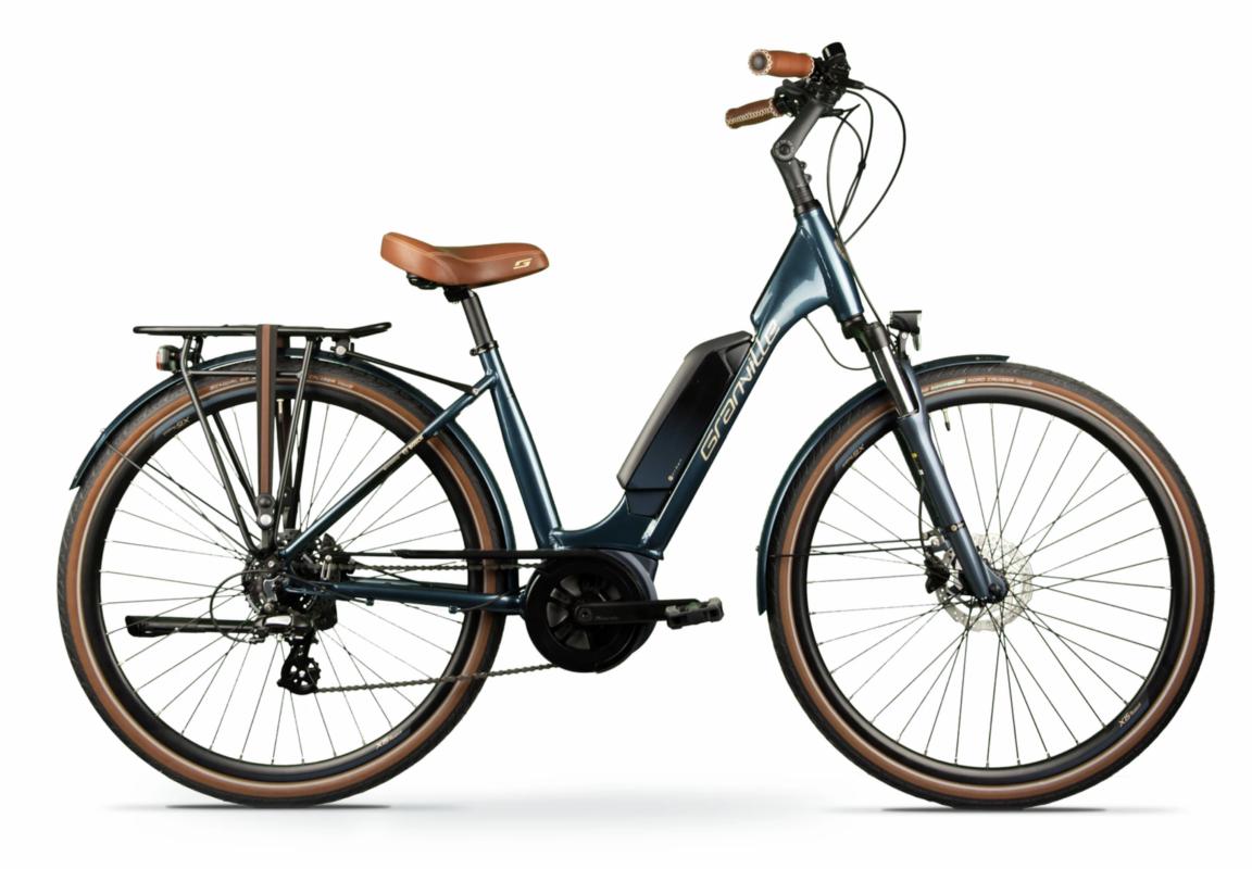 Granville E Urban 30 PLUS Petrol blue Esprit vélo