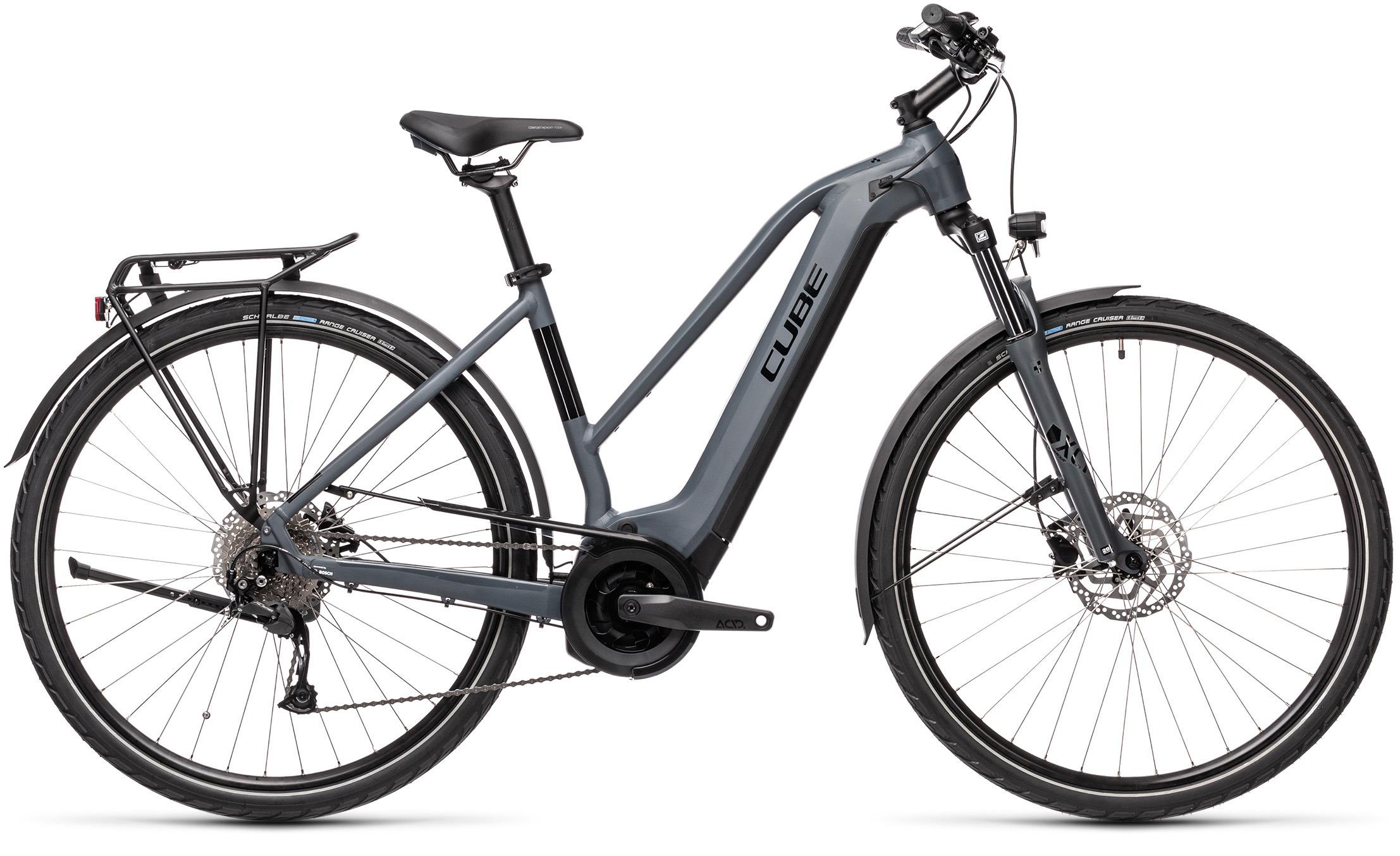 Esprit vélo Cube Touring Hybrid ONE 400 grey´n´black F