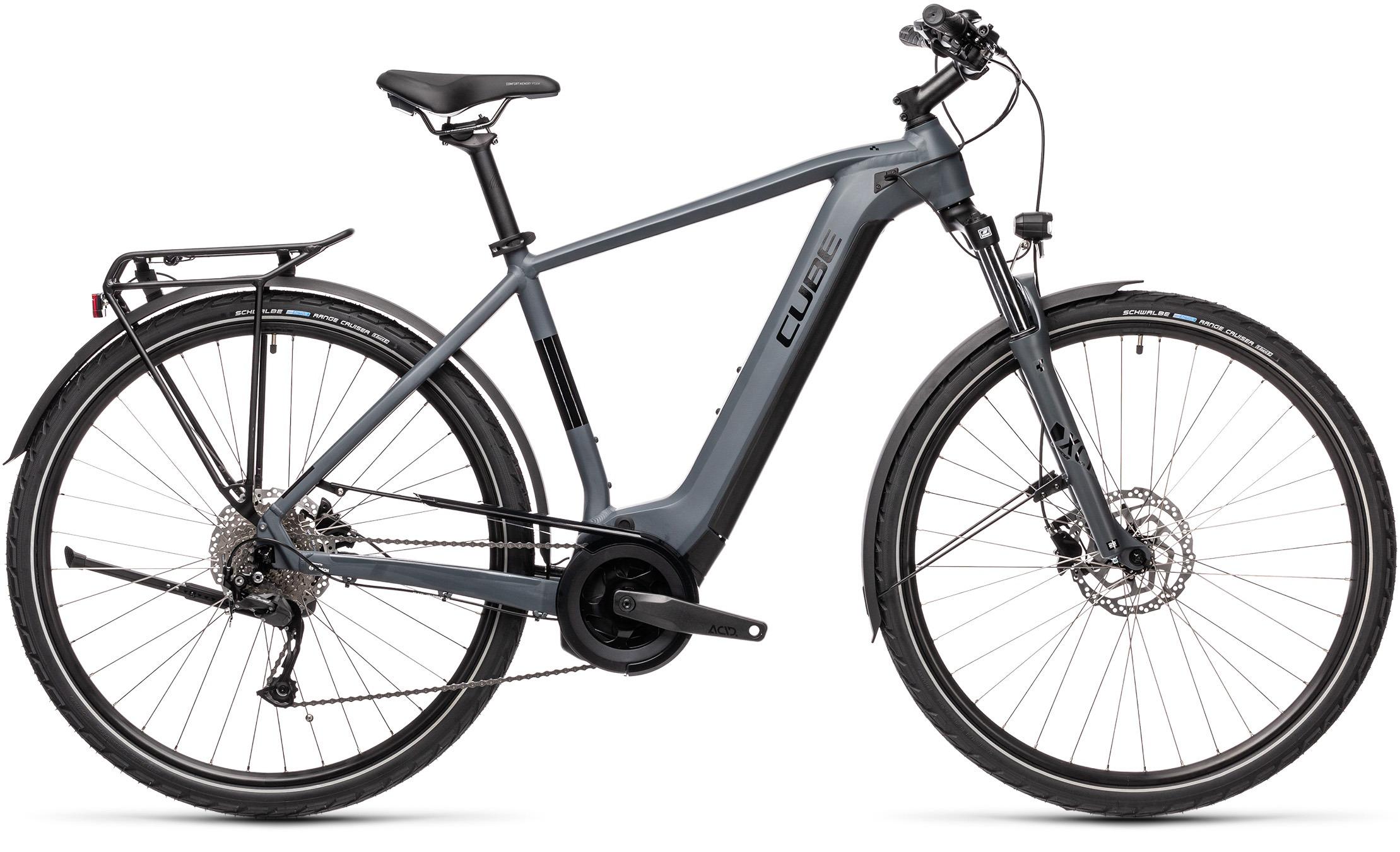 Esprit vélo Cube Touring Hybrid ONE 400 grey´n´black H