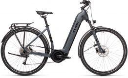 Esprit vélo Cube Touring Hybrid ONE 400 grey´n´black