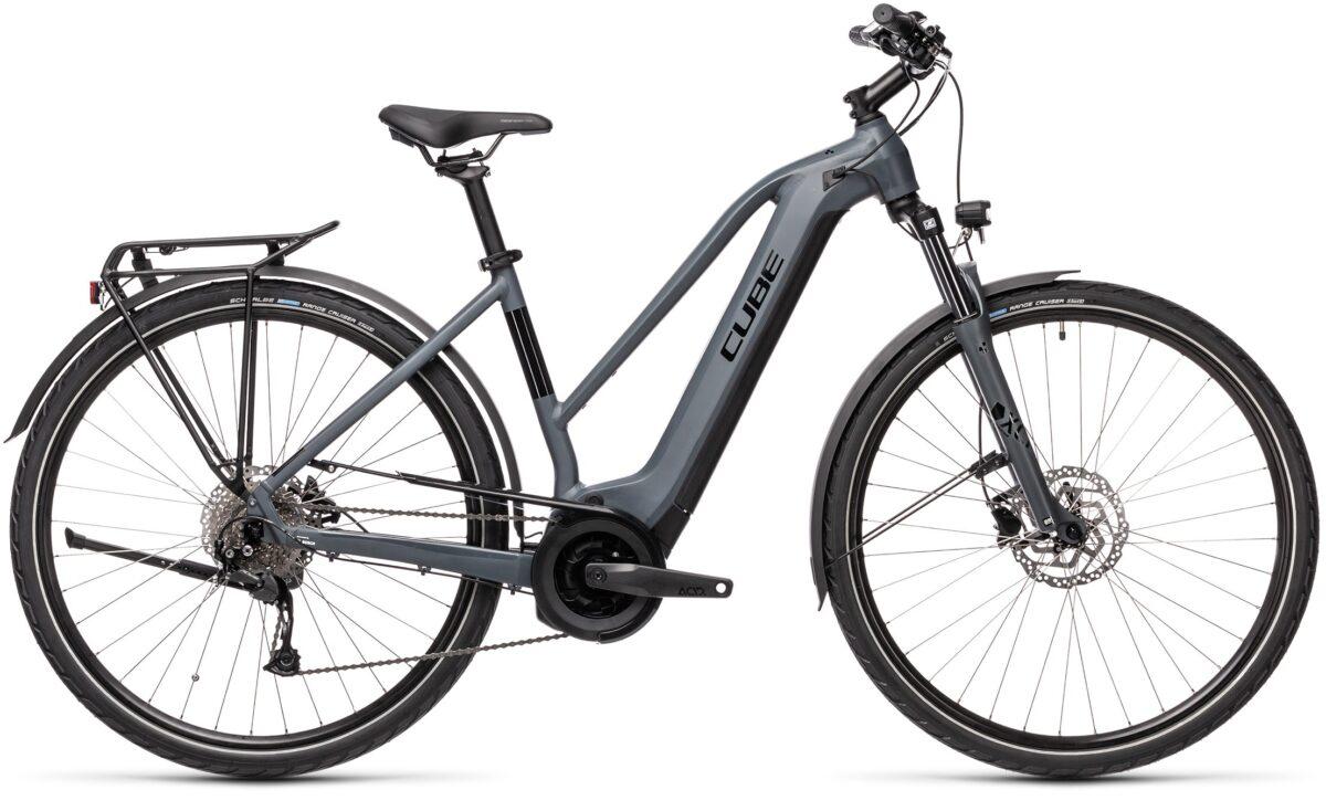 Esprit vélo Cube Touring Hybrid ONE 500 grey´n´black Trapeze