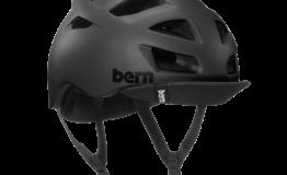 Casque Bern Allston-Matte-Black Esprit vélo