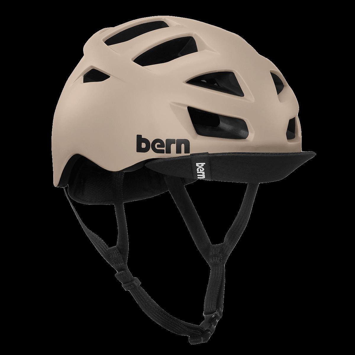 Casque Bern Allston-Matte-Sand Esprit vélo