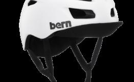 Casque Bern Allston-Matte-White Esprit vélo