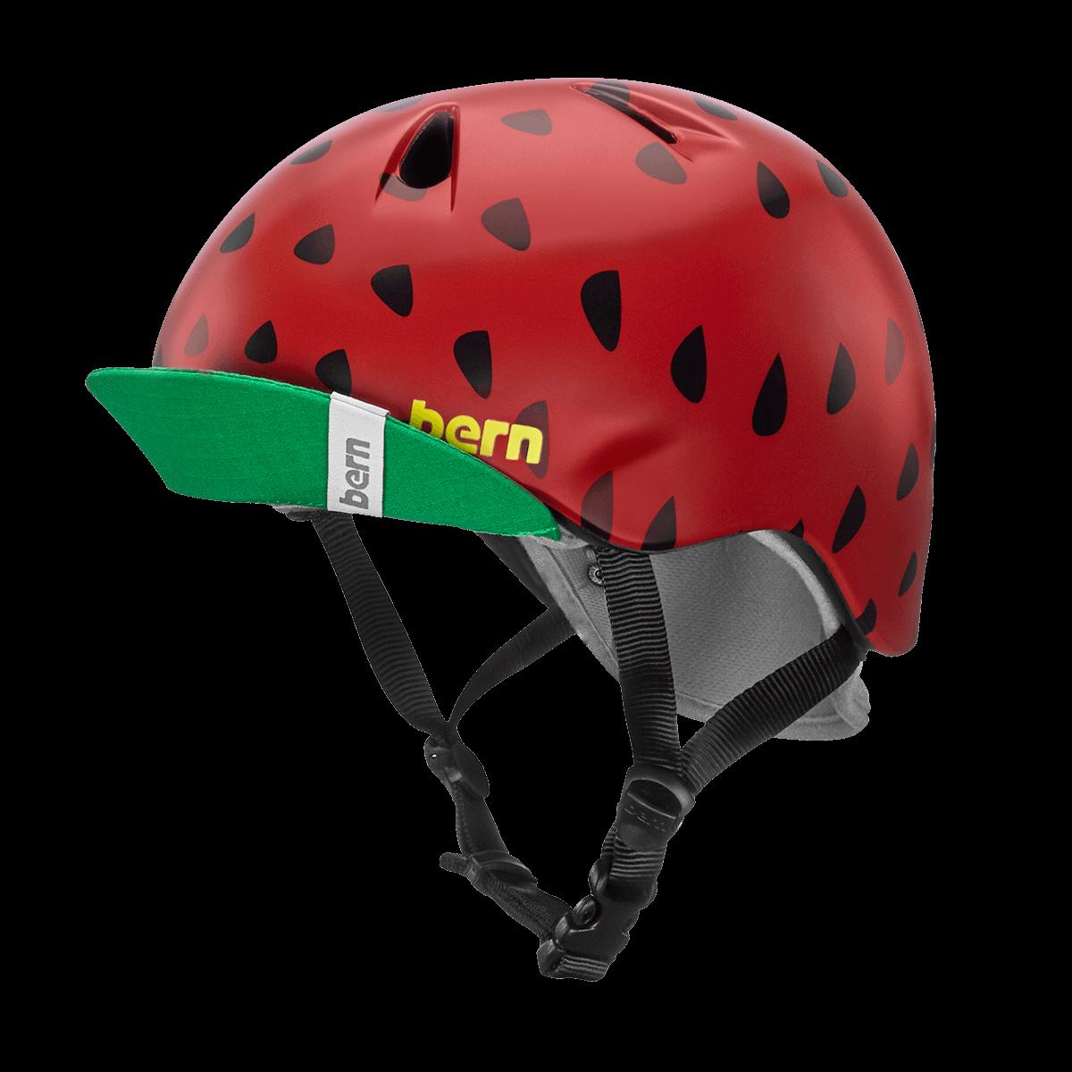 Casque Bern Nina-Satin-Red-Strawberry-Esprit vélo