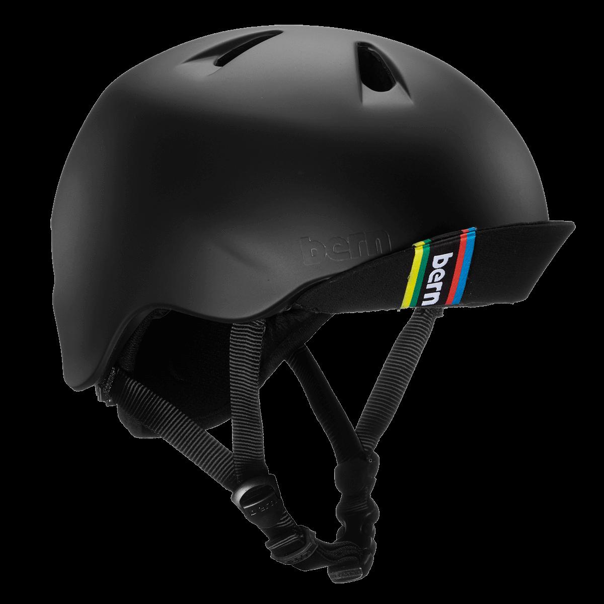 Casque Bern Nino-Matte-Black-Esprit vélo