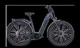 Cube Touring Hybrid Pro 500 Metallicgrey Easy entry Esprit vélo Paris 13